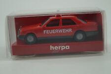 Herpa Modellauto 1:87 H0 Mercedes-Benz 300 E Feuerwehr