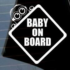 Cool Baby Minion on Board car van window sticker many colours VW jdm