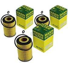 3x Original Mann-filter Oil Filter Hu 7020 Z Oil Filter