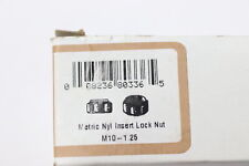 Hillman 44897 Fine Pitch Nylon Insert Stop Nut M10-1.25mm - 15 Pack