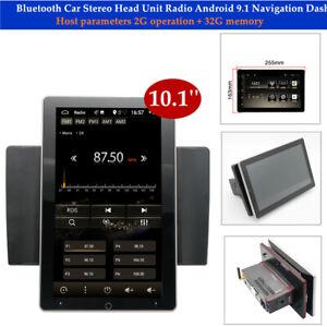 "10.1"" Bluetooth Car Stereo Head Unit FM Radio Touch Screen GPS Navigation Dash"