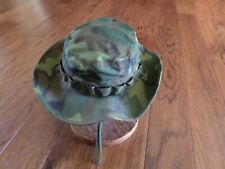 U.S Military Issue Vietnam Jungle Hat Camouflage Boonie Hat Date 1968 Size 6 7/8