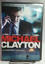 Michael Clayton (DVD,2008,Widescreen)Free Shipping-George Clooney, Tilda Swinton