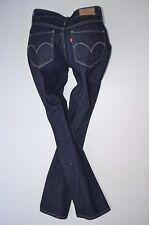"""NEW ladies LEVI BOLD CURVE stretch mid STRAIGHT JEAN woman W27 L30 size 8 30""""leg"""