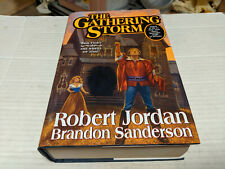 Wheel of Time Book 12: The Gathering Storm by Brandon Sanderson (2009) SIGNED