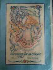 Our Blessing Bucilla Counted Cross Stitch Kit Barbara Baatz sealed