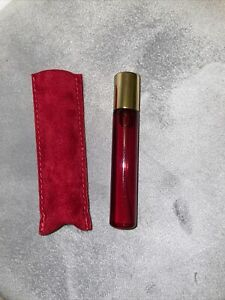 Cartier 10ml Oud & Santal Refillable Travel Spray & Velvet Pouch