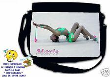 Sac bandoulière moyen modèle gymnastique réf 49 personnalisé avec prénom