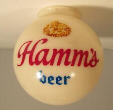 Vintage Hamm'S Beer Plastic Light Lamp Globe Only for Bar Sign