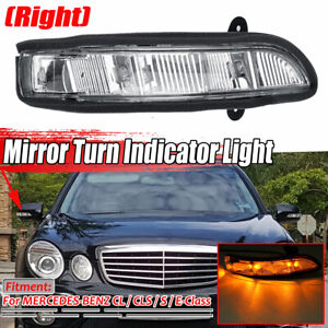 Right Door Mirror Turn Signal Light For: Mercedes E350 CL65 W216 W211 06-09