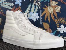 Vans Taka Hayashi TH SK8-Hi 75 LX Nubuck Canvas Marshmallow White Shoes - Size 5