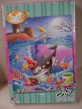 "Puzzle Jigsaw 25 piece ""Playtime"" Serpendipity puzzle sea creatures for children"