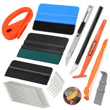 Pro Car Vinyl Wrapping Tools Window Tint Install Kit Gasket Squeegee Scratchless
