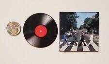 Miniature record album Barbie Gi Joe 1/6  Figure Playscale Beatles Abbey Road