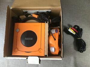 Nintendo GameCube Spice Orange Console with Controller set  (NTSC-J)