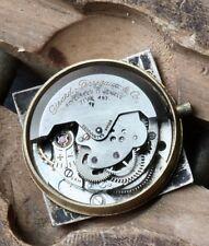 Vintage Girard-Perregaux Gyromatic watch automatic movement 71AE 497 balance OK