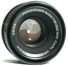 Carl Zeiss Jena DDR Pancolar MC 50mm F1.8 Prime Lens M42 Mount UK Fast Post