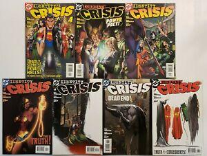 Full run of Identity Crisis #1-17 DC Comics 2004 Superman Wonder Woman Batman