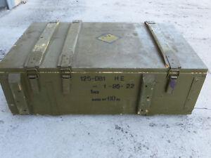 CASSA IN LEGNO BAULE MILITARE TNT ARMI ESPLOSIVE CRATE BOX WAR