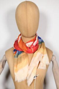 Neu GUESS Damen bunter schöner Schal Halstuch tuch Scarf 177cm x 88cm (39) 19