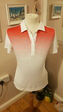 Ladies NIKE GOLF Tour Performance Dri-Fit polo shirt size M