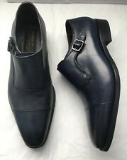 New To Boot New York Navy Single Monk Side Strap Size 7