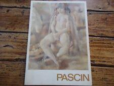 RARE - CURIOSA - PEINTURE NUE - PASCIN - ED RAMBERT - 1980  ART TOILE PEINTRE