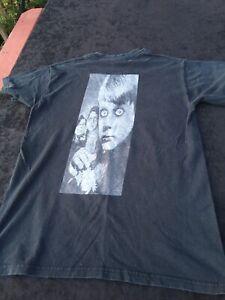 ORIGINAL Vintage Mr Bungle Faded DISCO VOLANTE TOUR SHIRT BLACK PATTON 1995 RARE