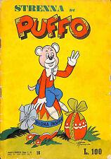 """[402] PUFFO L'ORSETTO ed. Mancini 1953 n.  16 """"Strenna"""" stato Buono"""