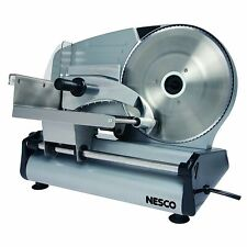 Commercial Food Slicer For Meat Cheese Bread Vegetable Fruit Spinning Blade New