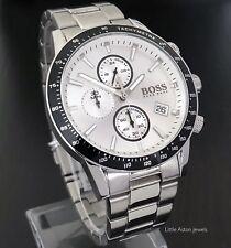 Hugo Boss Men's Rafale Chronograph Watch 1513511 Brand New / Warranty