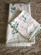 Pretty double duvet cover with 2 pillow cases