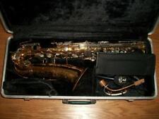 USED BUNDY-SELMER #505542 SAXOPHONE with HARDSIDE CASE