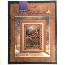 Leisure Arts Cross Stitch Pattern, MERMAID, by Teresa Wentzler