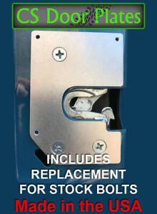 Dodge Ram (D/W Series) 81-93 PASSENGER door latch repair & reinforcement plate