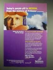 2001 AstraZeneca Nexium Ad - Today's Purple Pill