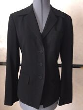 TALBOTS Collection Made in Italy Lined Black Dress Jacket Size 10 MSRP $155