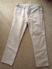 "R. B. SELLARS   Bone   MACINTOSH  COTTON  MOLESKIN   PANTS   *Size 89R / 35""R"
