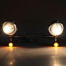 Passing Auxiliary Fog lights fit for Yamaha Road Star Warrior Midnight Warrier