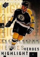 2000-01 SPx Highlight Heroes #3 Joe Thornton