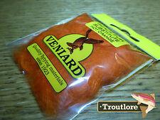 Hot Orange Veniard Seals Fur Substitute Dubbing - Fly Tying Dub Material