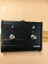 Crate Two Button Footswitch for guitar amplifier