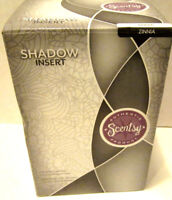 Scentsy Warmer SHADOW INSERT ZINNIA New in Box (insert only)