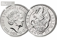 NEW 2018 Red Dragon of Wales CERTIFIED BU £5 (Brilliant Uncirculated)