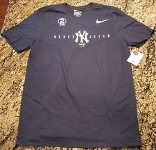 Nike Derek Jeter T Shirt 5/14/17 I WAS THERE Retirement Ceremony Sz L Yankees