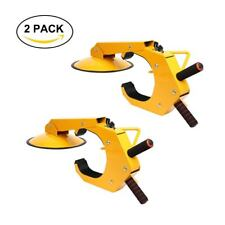 CA 2 PACK Wheel Lock Clamp Adjustable Tire Boot Lock Antitheft Lock /Parking Car