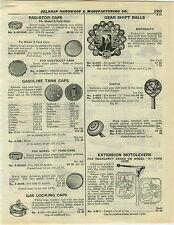 1932 PAPER AD Motoshift Car Auto Automobile Gear Shift Knobs Balls Vidrio Maple