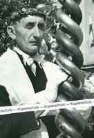 Bamberg - Häcker bei der Prozession mit Zunftstange - wohl um 1950 -     S 25-28