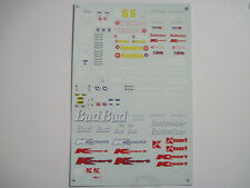 UMI    1/20  Bud Texaco Kmart  Indy CART  Decal   Tamiya   Studio 27