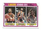 1981-82 TOPPS LAKERS LEADERS #55 VENDING MINT KAREEEM ABDUL JABBAR